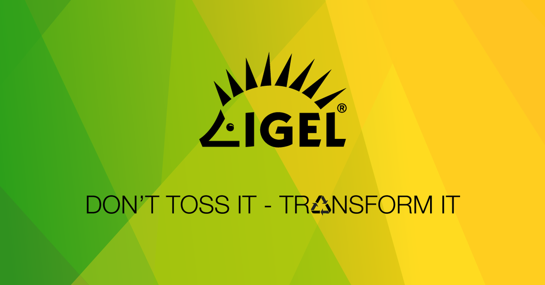IGEL sustainable IT