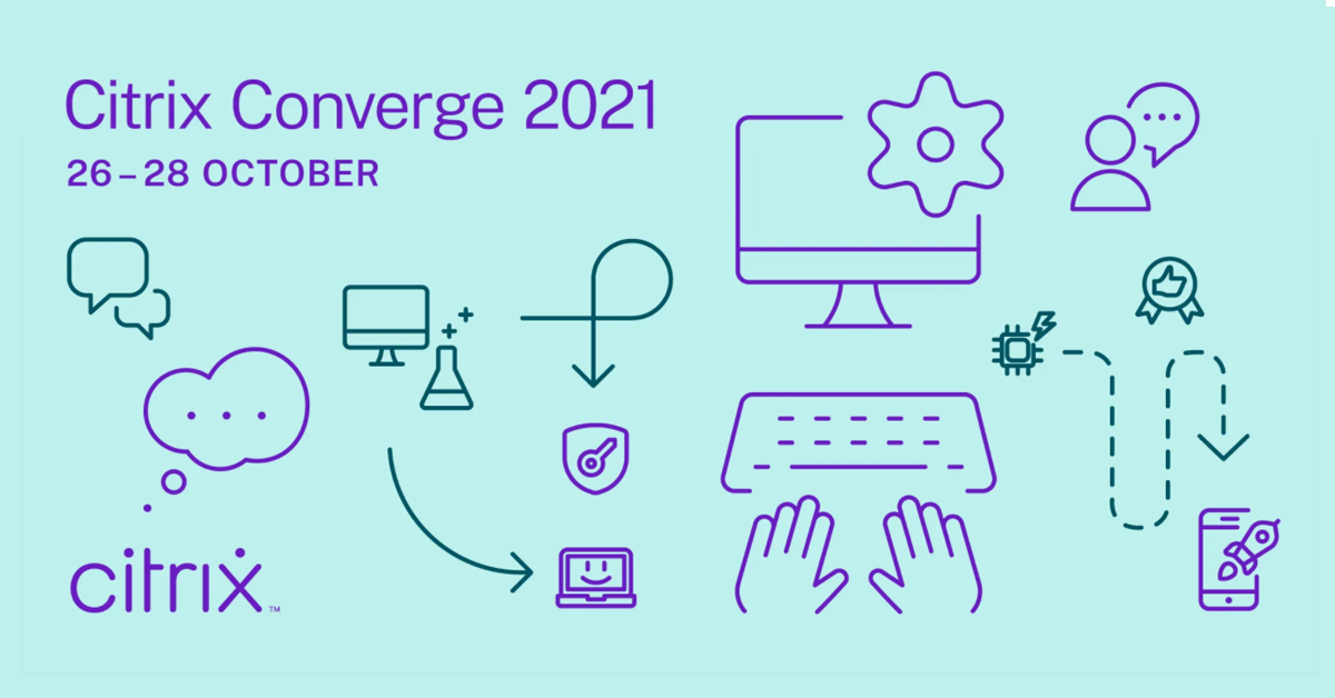 Citrix Converge 2021 banner
